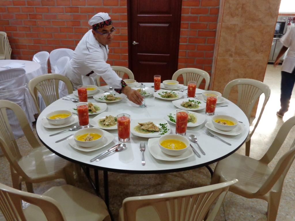 Una de las actividades de Hotelería y turismo