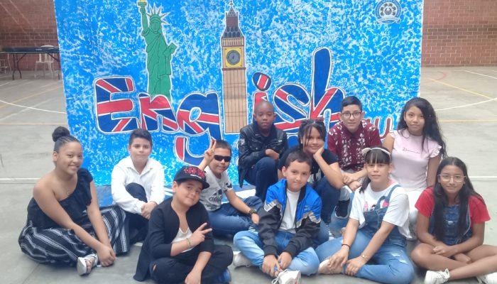 Participantes del English Day