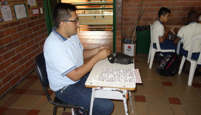 Realización de Bingo en Inglés.